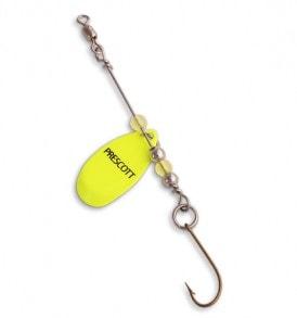 Single Blade Perch Trap Spinner Rig P26-81