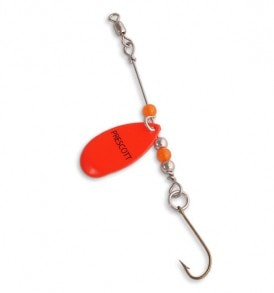 Single Blade Perch Trap Spinner Rig P26-89