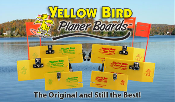 2015 Yellow Bird Planer Board