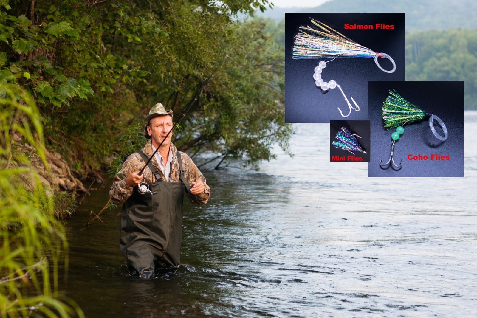 What Do You Need To Fly Fish For Salmon And Other Species Successfully?